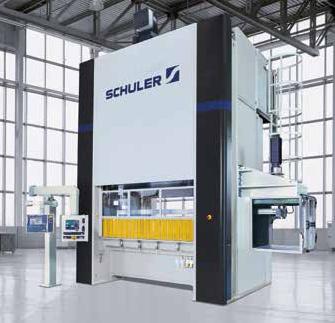 Unversele Stanz-omvormautomaten Schuler
